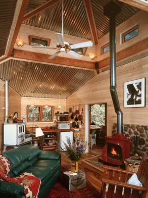 julian cabin interior