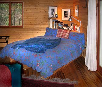 julian, ca  cabin king size bed
